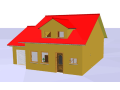 Samostatné stojící rodinný dům 5+1 s garážovým stáním Slavkov