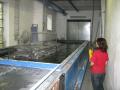 Povrchová úprava lakování kovů práškové lakování tryskání kovů otryskávání.