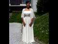 Půjčovna svatební společenské šaty XXL svatební společenské šaty pro plnoštíhlé Jablonec Liberec.