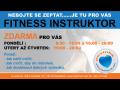 Fitness instruktor zdarma  - sportovní a relaxační centrum pro zdraví a kondici Pardubice