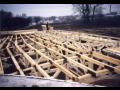 Dřevěné příhradové vazníky se styčníkovým deskami Žamberk Vamberk