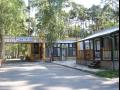 Autocamp Hluboký ubytování, karavany, stany, chatky