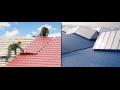 Montáž plechových střech Praha