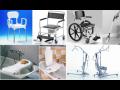 Repasované invalidní vozíky.