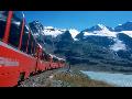 Z�jezdy vlakem po �v�carsku, dovolen� na kon�ch, na venkov�