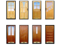 Dřevěné dveře z masivu, borovice na míru Šumperk