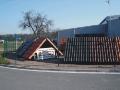 Plechov� krytiny, betonov� p�len� ta�ky Choce�, Hradec, Pardubice