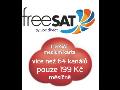 Mont� satelitn� televize freeSAT medium karta �umperk, Z�b�eh, Jesen�k, Mohelnice, Olomouc