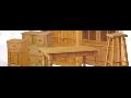 Dřevěný nábytek z masivu s 50% slevou.