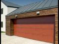 Akční nabídka - kvalitní sekční garážová vrata na míru za neuvěřitelně skvělou cenu
