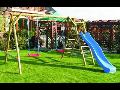 Eshop zahradní nábytek, domky, dětské hřiště, skluzavky, pergoly Zlín