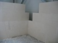 Výroba příčkové tvárnice, sádrové omítky Opava