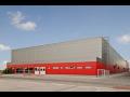 Dod�vka, mont� ocelov� haly, ocelov� konstrukce a syst�my ASTRON Lindab Buildings Ostrava