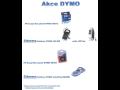 Elektronické štítkovače DYMO ruční popisovač ruční elektronická tiskárna DYMO.