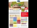 Brillant CREATIVE - interiérová tónovaná disperzní barva vhodná ke vzájemné kombinaci odstínů