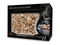 Grilovací chips, dřevitý, tekutý, gelový podpalovač, čisticí prostředek na grily, fire