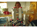 Laboratoře, rozbory potravin a vody.