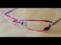Výroba vrtané kreativní brýle Minima Praha