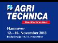 Pozvánka na veletrh zemědělské techniky AGRITECHNICA 2013