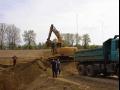 Zemní a strojní výkopové práce, výstavba kanalizací Zlín