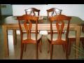 Dřevěné stoly a židle Rychnov, Kostelec, Vamberk, Žamberk, Letohrad