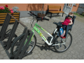 Stojan na kola Iks - Brno, Olomouc, Ostrava, Bratislava, Praha