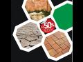 Akční nabídka na dlažby, plotové systémy, betonové cihly Frýdek Místek