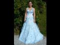 Plesové šaty pro maturantky společenské šaty půjčovna šatů Liberec Jablonec.