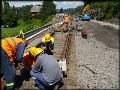 Rekonstrukce železničních tratí, rekonstrukce přejezdů, mostků