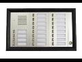 Domácí telefony, tlačítkové tabla, panely MIWI prodej Praha