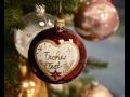 Ručně malované vánoční ozdoby