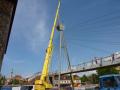 Práce jeřábem, autojeřáby, nakládka jeřáby LIEBHERR Zlín, Uherské Hradiště