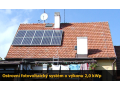 Ostrovn� off-grid syst�m 2,0 kWp na kl��