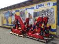 Prodej, montáž, servis, revize hydraulické jeřáby HMF