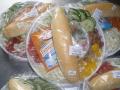 Obložené bagety a racionální strava v rámci denního menu včetně rozvozu