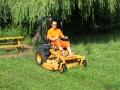 Sečení trávy a údržba zeleně