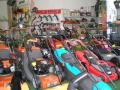 Prodej, servis zahradn�, lesn�, komun�ln� techniky, stroj�, traktor�, seka�ek Zl�n, Uhersk� Hradi�t�