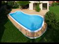 Prodej , montáž venkovních teras k bazénům  Znojmo, Brno, Mikulov, Břeclav, Hodonín, Moravské Budějovice, Moravský Krumlov, Jihomo