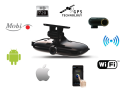 Luxusní, multifunkční kamera, HD autokamera Mobi-i, do auta, černá skříňka