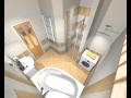 Pokládka, montáž obkladů a dlažby do koupelen