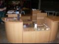 Výroba atypických pracovních barových a prodejních pultů z masivu  a lamina Praha