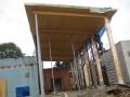 pultov� st�echa z konstruk�n�ch hranol�