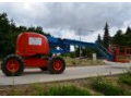 Výškové práce na montážních plošinách s dosahem od 10 to 27 metrů v Třebíči