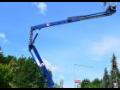 práce na montážních plošinách s dosahem od 10 to 27 metrů Třebíč