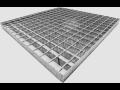 Výroba ocelových regálových a podlahových roštů pro průmysl