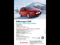 Akční prodej vozů Volkswagen Golf a Volkswagen Tiguan Comfort Edition, Ostrava, Frýdek-Místek, Opava