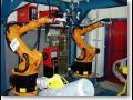 Robotické svařovací buňky, robotické svařování Praha