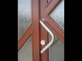 Výroba, realizace dřevěných dveří, kvalitní vchodové dřevěné dveře Ostrava, Fulnek, Odry, Brno