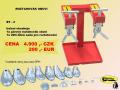 Obuvnický materiál a nářadí pro opravny obuvi