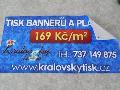 V�roba venkovn�ch banner�, reklamn�ch plachet, velkoform�tov� tisk, PVC f�lie Opava, Ostrava